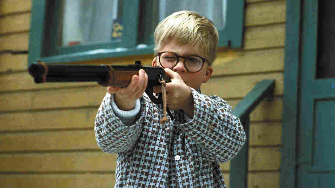 In the 1983 movie A Christmas Story, all Ralphie wanted was a BB gun.