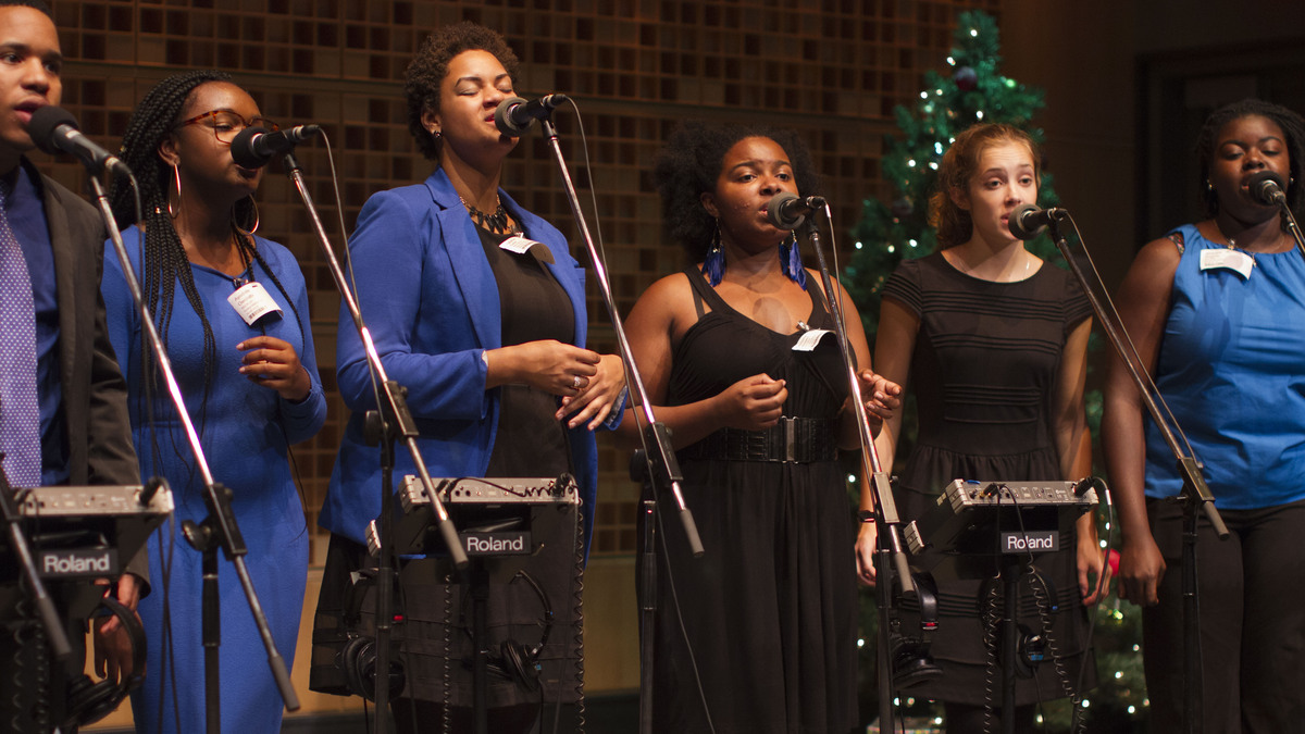 An Afro Blue Christmas : NPR
