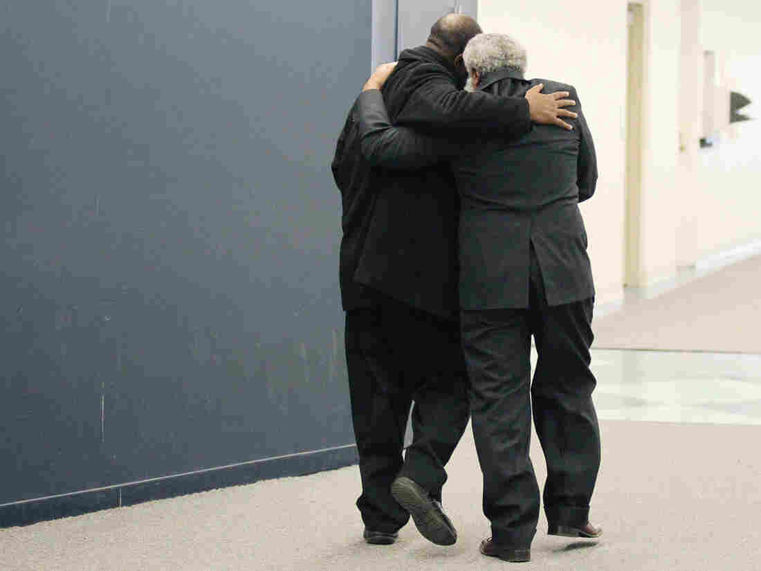 """""""My brother's my first best friend,"""" Ajamu says. """"My hero. My everything."""""""