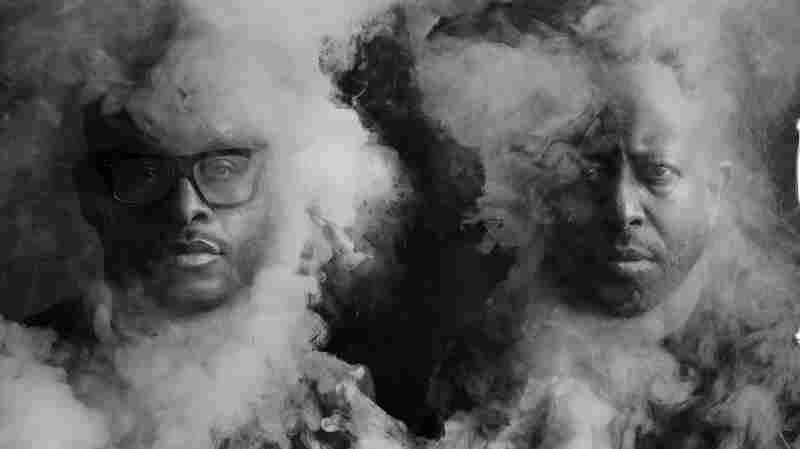 "PRhyme is Royce Da 5'9"" (left) and DJ Premier."