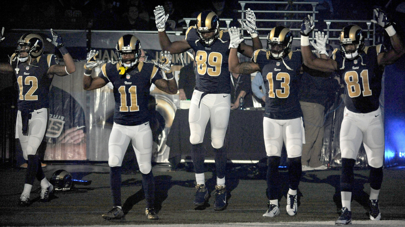 A Brief History Of Racial Protest In Sports Code Switch Npr