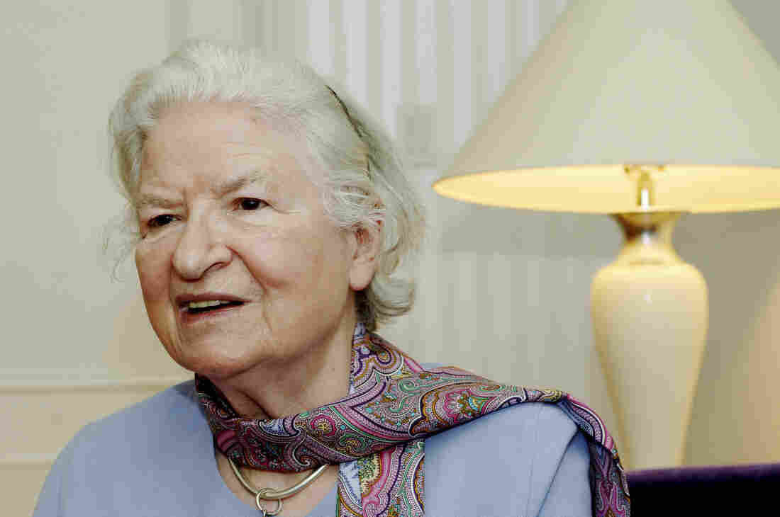 British mystery writer P.D. James wrote 18 novels, seven of which were adapted for the public television series Mystery. She died Thursday at the age of 94.