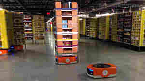 Amazon Unleashes Robot Army To Send Your Holiday Packages Faster