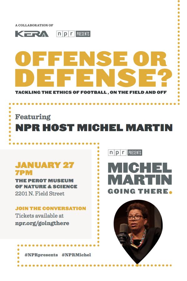 Offense or Defense flyer