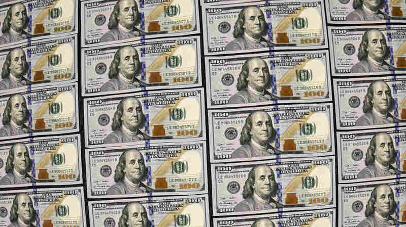 U.S. currency in $100 denominations