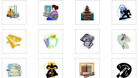 Microsoft clip art. Says goodbye to all