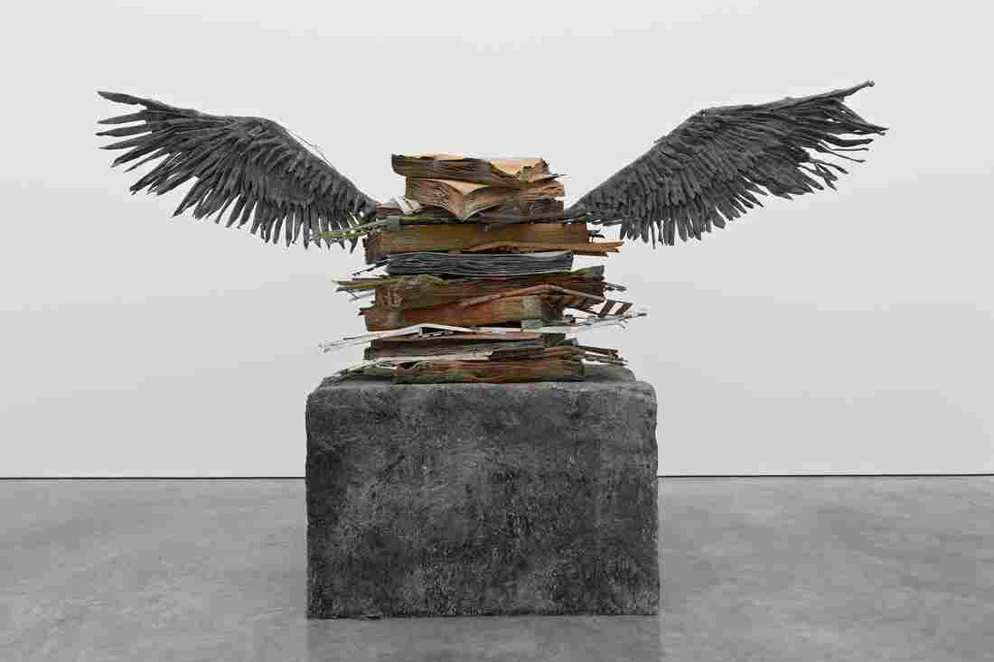 Anselm Kiefer's Sprache der Vogel belongs to one of Miami's best-known private collections.