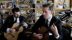 Tiny Desk Concert with the Dublin Guitar Quartet Oct. 17, 2014.
