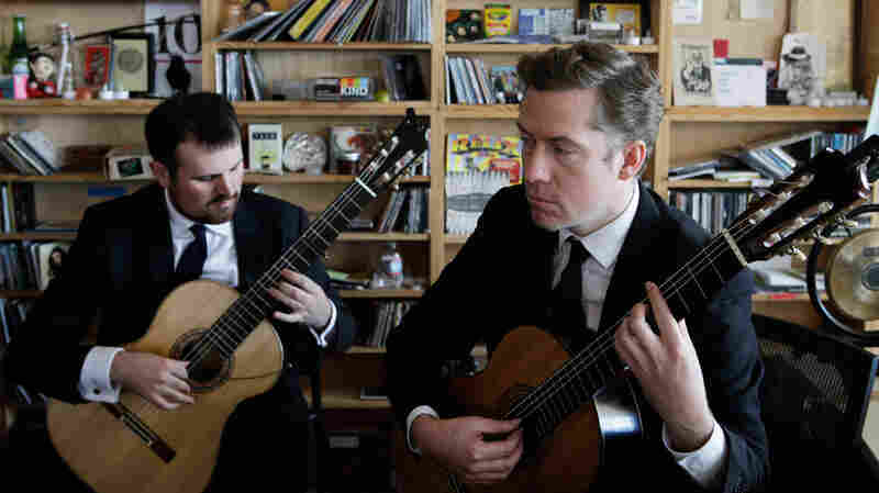 Tiny Desk Concert with the Dublin Guitar Quartet Oct. 17, 2014.