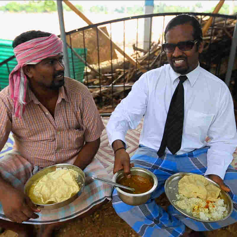 Wilbur Sargunaraj takes us on a culinary tour of village food in India.