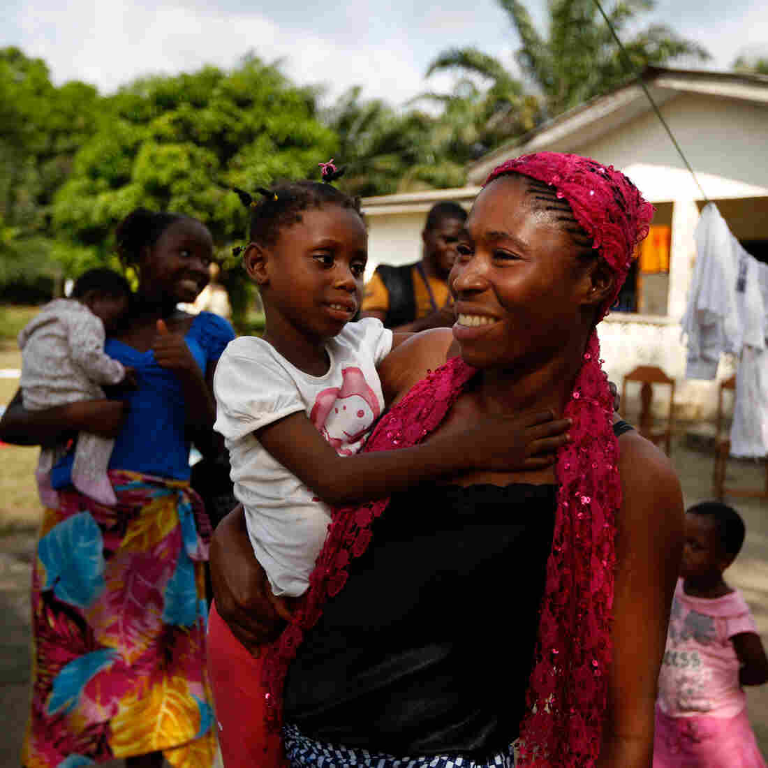 For Ebola Orphans In Liberia, It's A Bittersweet New Beginning
