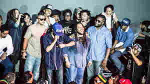 Jr. Gong, Stephen Marley, Cham, Sean Paul — the list goes on. A massive jam session ensues and nearly everyone leaps onstage to spit some lyrics. To call this reggae history is no hyperbole.