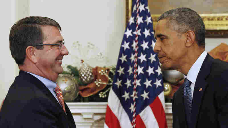 President Obama announced Friday that Ashton Carter is his nominee to succeed Chuck Hagel as defense secretary.