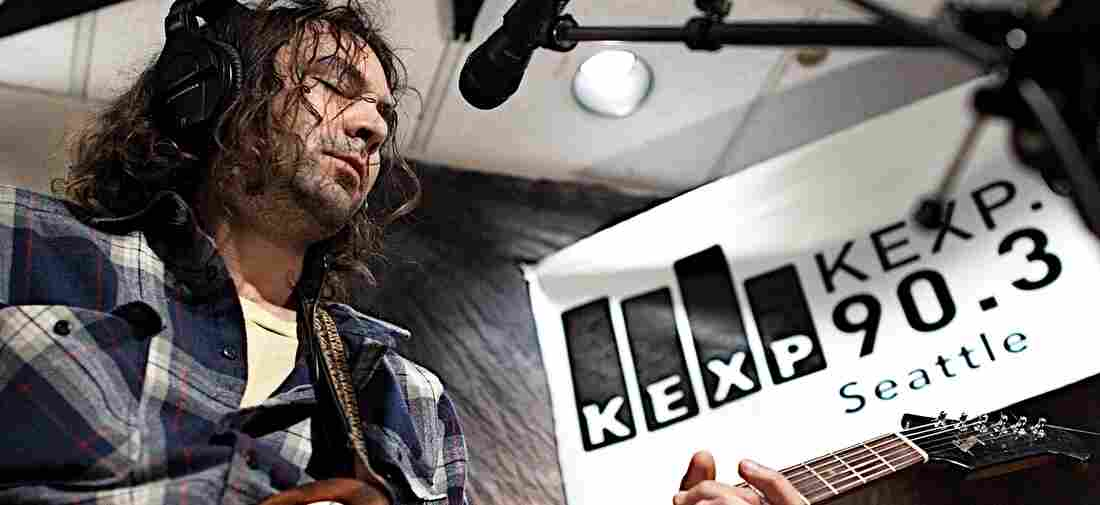 The War On Drugs, seen here performing live on KEXP, supplied several of public radio's most popular songs this year.