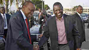 The chief prosecutor of the International Criminal Court has dropped all charges of crimes against humanity against Kenyan President Uhuru Kenyatta (left), but the charges against his deputy, William Ruto (right), still stand. Kenyatta said he was relieved by the decision, adding he was confident Ruto would be vindicated.