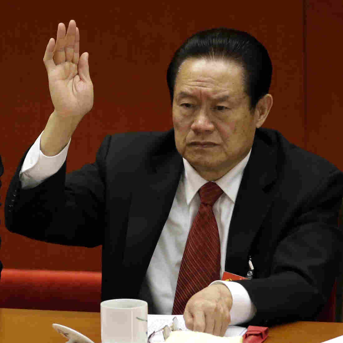 China's Ex-Security Chief Arrested On Corruption Charges