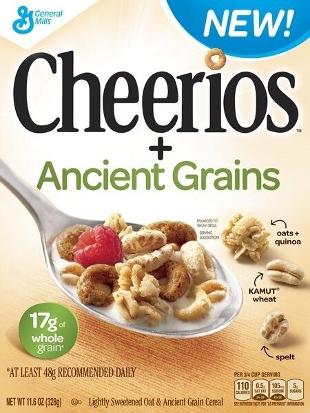 Ancient Grains' Go From Fringe Food To New Cheerios Variety