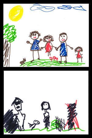 kids drawings speak volumes about home - Small Drawings For Kids