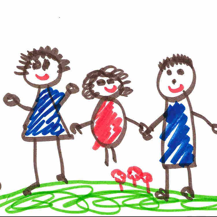 Kids' Drawings Speak Volumes About Home