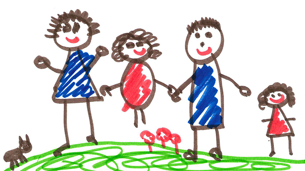 kids drawings speak volumes about home npr ed npr