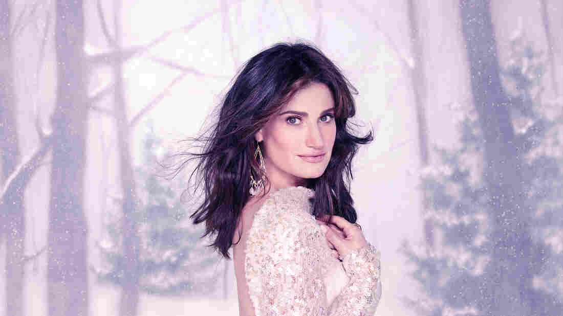 "Idina Menzel, known for singing ""Let It Go,"" has a new holiday album."