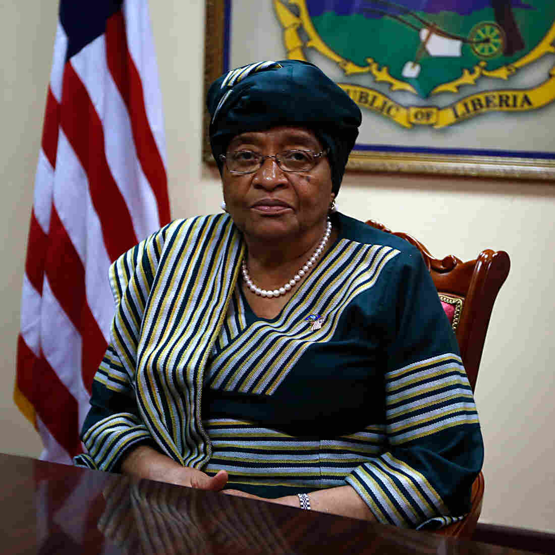 Liberian President's Ambitious Goal: No New Ebola Cases By Christmas