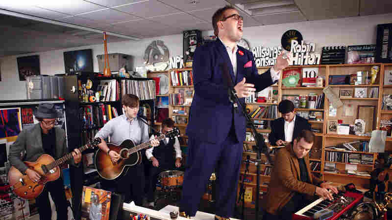 Tiny Desk Concert with St. Paul And The Broken Bones on October 15, 2014.