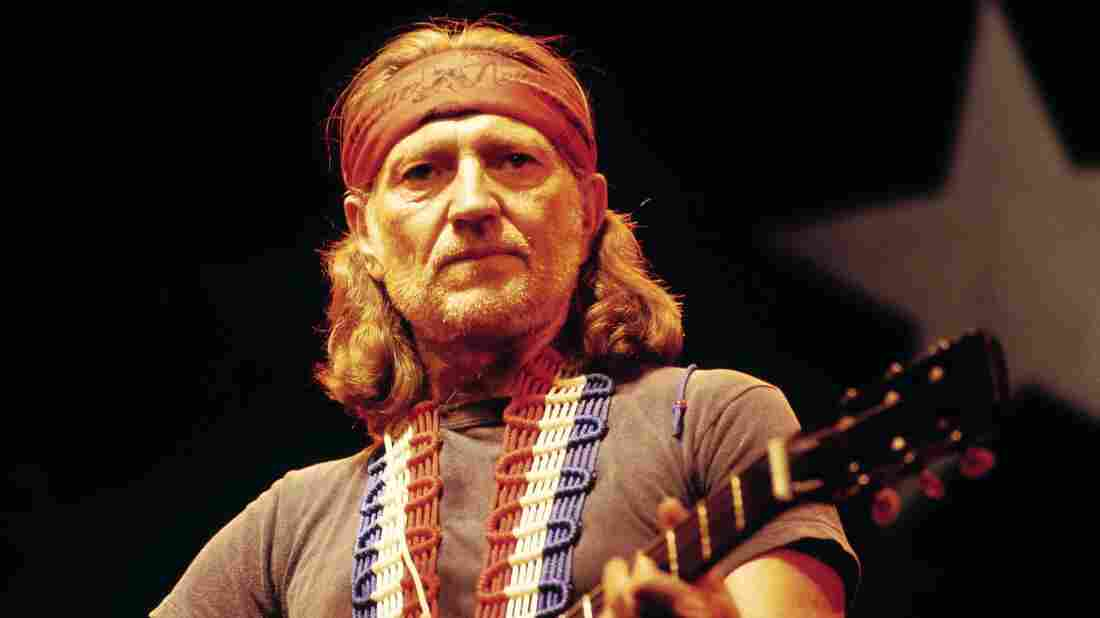 Willie Nelson, seen performing in the U.K. in 1980, is one of the featured artists in Oxford American's Southern Music issue about Texas.