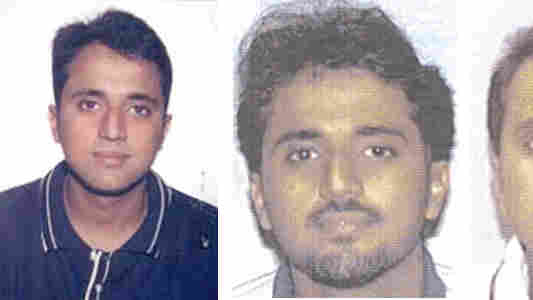 Adnan Shukrijumah is shown in these undated images provided by the FBI. The suspected al-Qaida operative who lived for more than 15 years in the U.S., was reportedly killed in a raid by the Pakistani military.