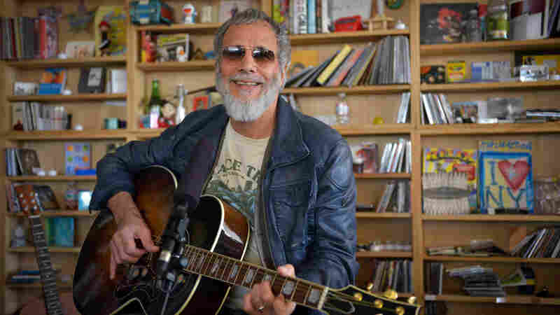 Tiny Desk Concert with Yusuf/Cat Stevens on Oct. 26, 2014.