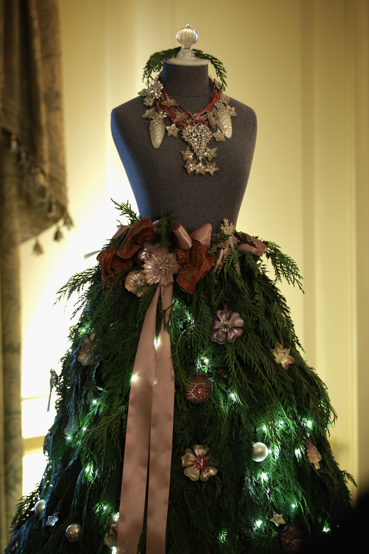 Украшения на платья к новому году