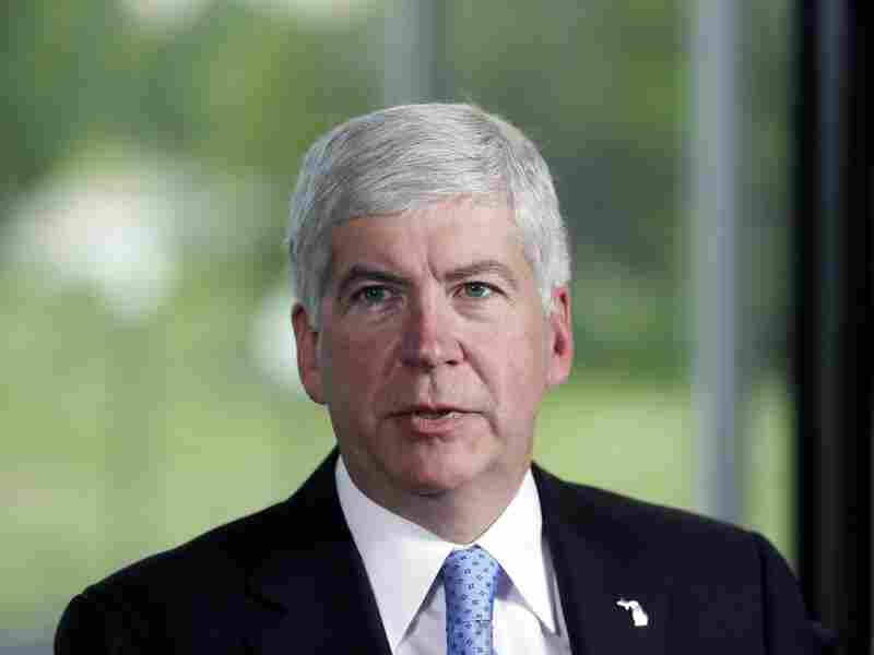 Michigan Gov. Rick Snyder is one several lawmakers pushing for a higher gas tax.