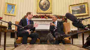 """The White House said the president was looking forward to """"thanking The Duke of Cambridge for the hospitality shown to him by the Royal Family during the President's recent visits to the United Kingdom."""""""