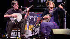 Béla Fleck And Abigail Washburn On Mountain Stage