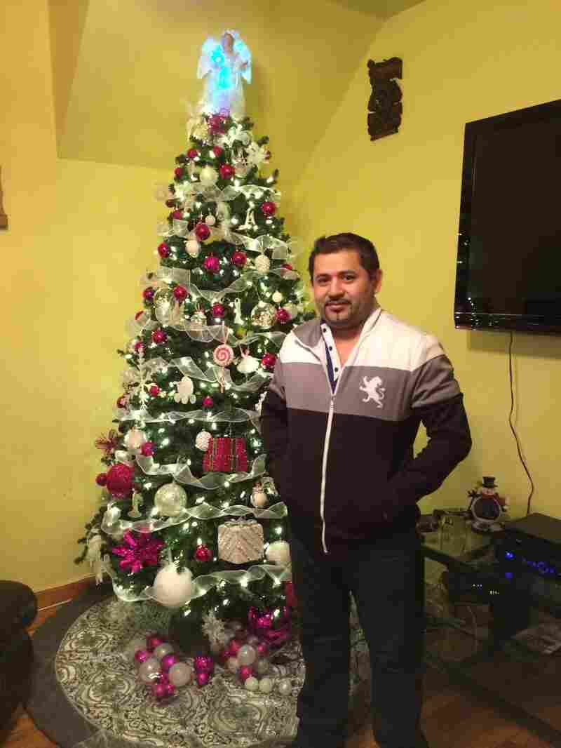 Wilfredo Díaz left Honduras 16 years ago before his third child was born, and he hopes to bring his children to the U.S. under the State Department's new program.