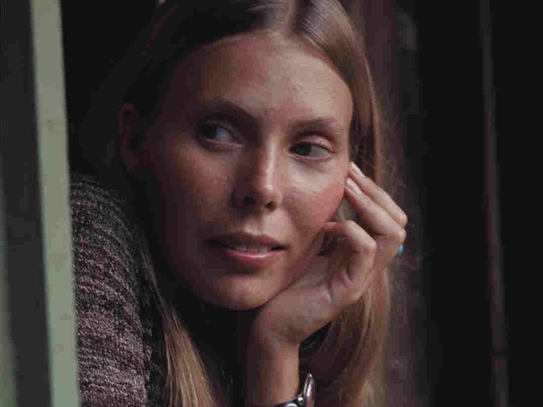 Joni Mitchell in 1970.