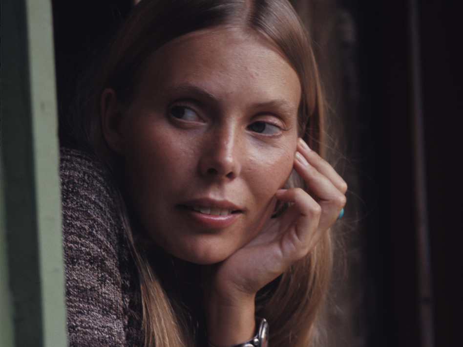 Joni Mitchell in 1970. (Henry Diltz/Courtesy of the artist)