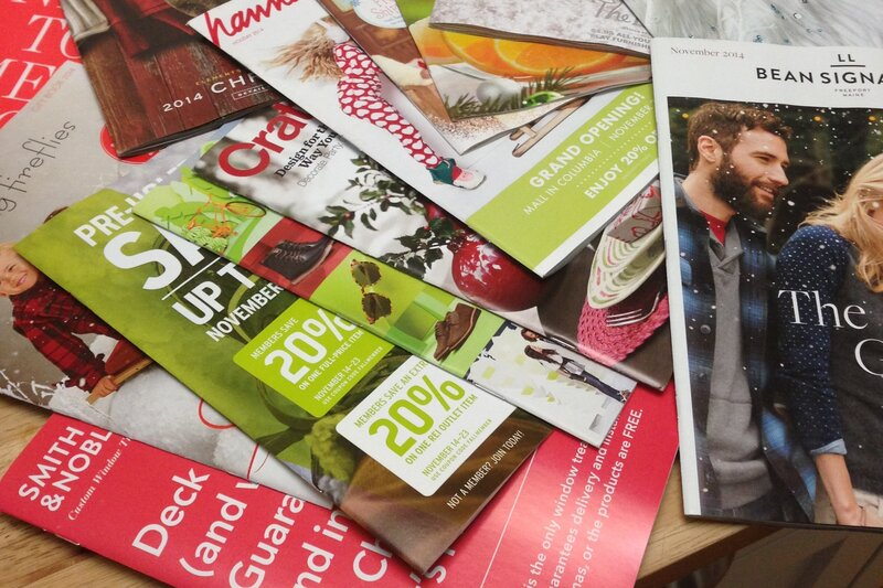 here s why retailers keep sending you catalogs npr