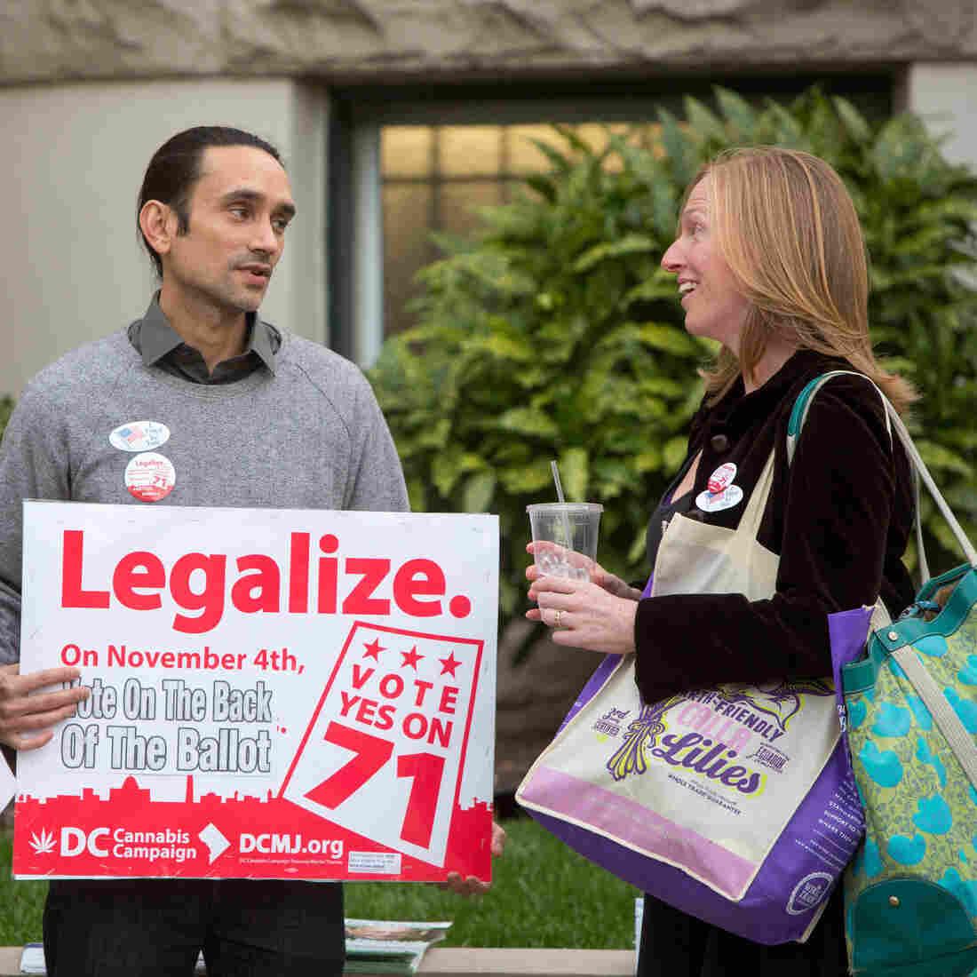 D.C.'s Marijuana Legalization Is Part Of Debate Over Spending Bill