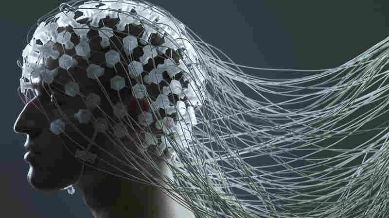 Electrodes on the scalp can reveal electrical activity in the brain associated with seizures.