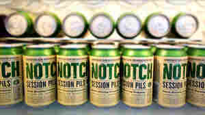 Chris Lohring founded Notch Brewing in 2010. The company's lineup includes a Czech pilsner, a Belgian saison and an India pale ale. All of the brews are session beers — meaning their alcohol by volume, or A.B.V., is less than 5 percent.