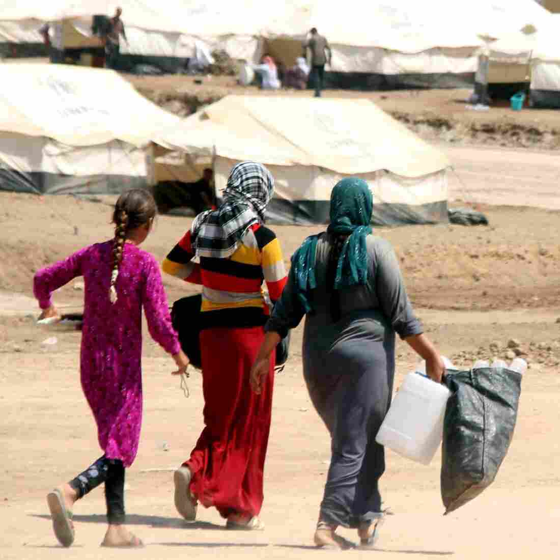 For Yazidi Women, Escaping ISIS Doesn't Mean The Ordeal Is Over
