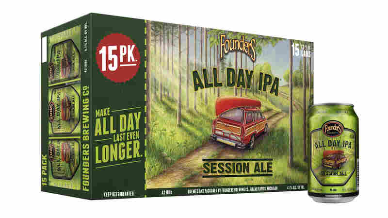 All Day IPA, from Founders Brewing, is sold in a 15-pack, instead of the traditional 12-pack.