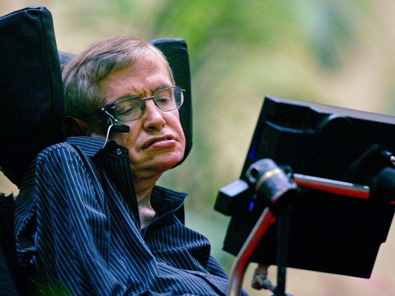 Time To Listen To Stephen Hawking >> Space Time Love And Stephen Hawking 13 7 Cosmos And Culture Npr