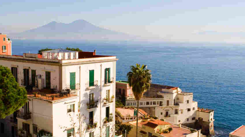 When it comes to picturing Elena Ferrante, readers have even less material than they do on Thomas Pynchon. They'll have to continue to settle for stock photography such as this, a shot of her native Naples, Italy.