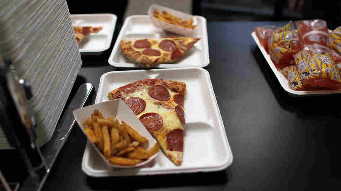 When it comes to salty french fries or pizza served at lunch, schools may get more time to dial back sodium content, thanks to a provision in the federal spending bill headed for a vote on Capitol Hill.