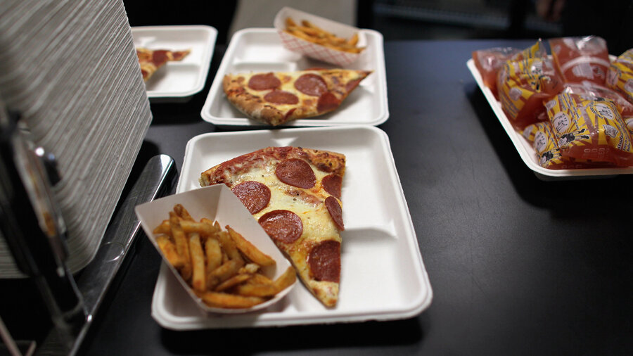 from potatoes to salty fries in school congress tweaks food rules when it comes to salty french fries or pizza served at lunch schools get more time to dial back sodium content thanks to a provision in the federal