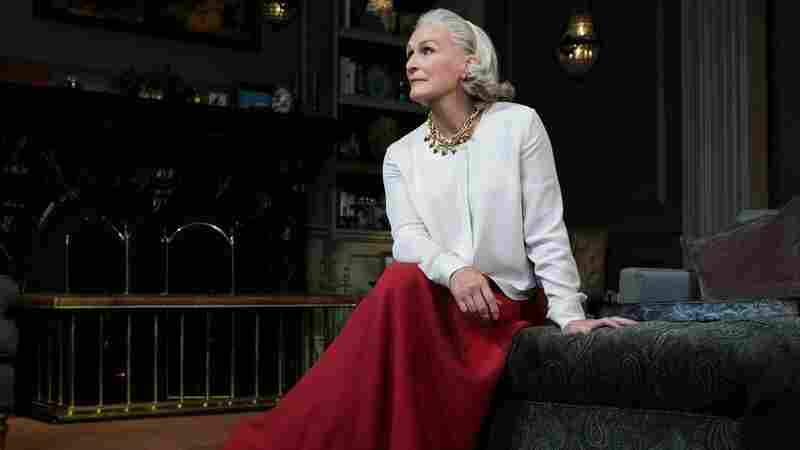 Glenn Close stars as Agnes in Edward Albee's play A Delicate Balance.
