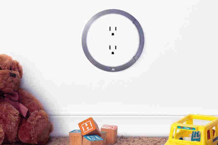 Normal outlets are always live at 120 volts, but the Brio Safe uses embedded sensors to accurately identify a plug before delivering a current.