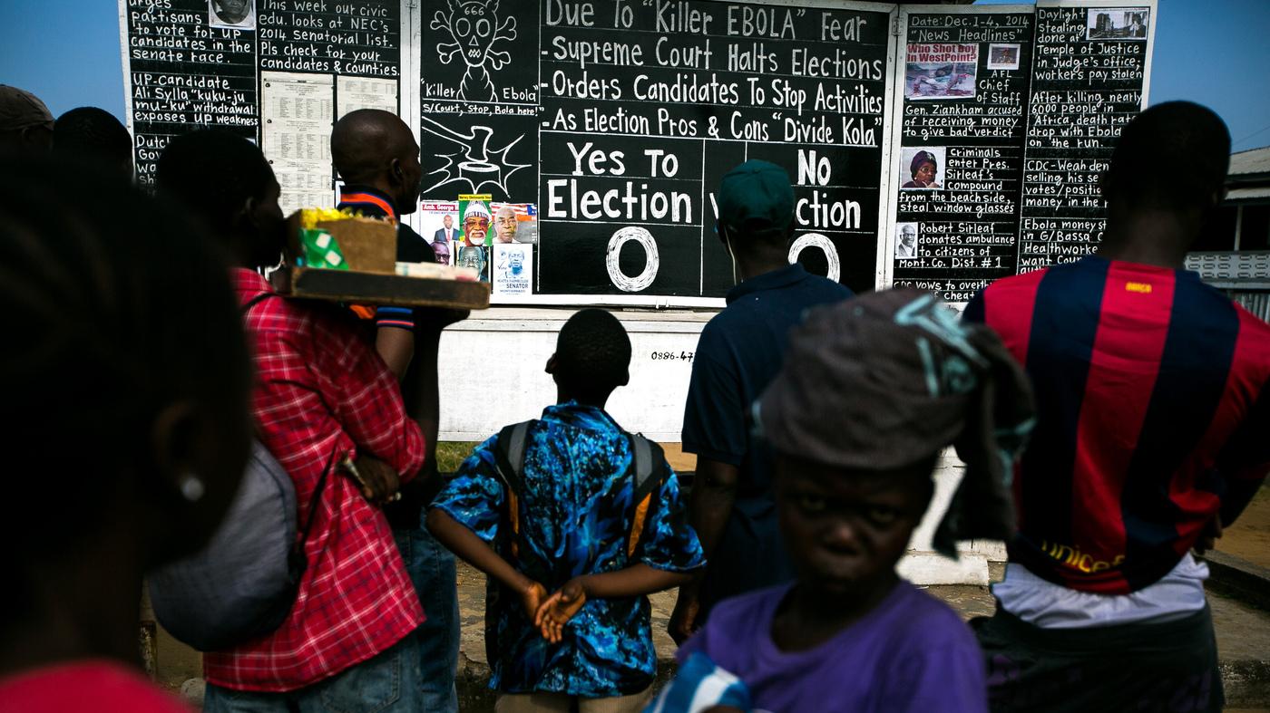 Liberia's Daily Talk: All The News That Fits On A Blackboard